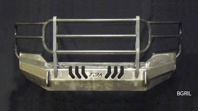 Throttle Down Kustoms - 2001-2002 Chevrolet HD Bumper Grille Guard