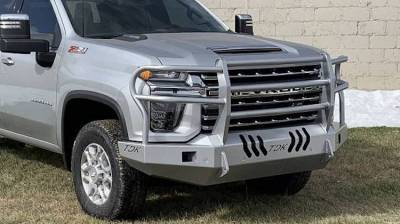Throttle Down Kustoms - 2020 Chevrolet HD Bumper Grille Guard - Image 1