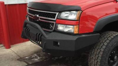 Throttle Down Kustoms - 2003-2006 Chevrolet HD Push Bar - Image 1