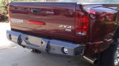 Dodge/RAM - Rear Bumper - Throttle Down Kustoms - 2003-2005 Dodge Rear Bumper