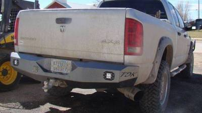 Dodge/RAM - Rear Bumper - Throttle Down Kustoms - 2006-2008 Dodge Rear Bumper 1500