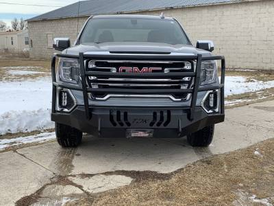 Throttle Down Kustoms - 2019-2020 GMC 1500 Bumper Grille Guard - Image 2