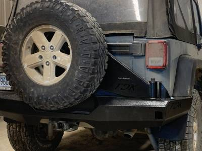 Throttle Down Kustoms - 2007-2017 Jeep JK/JKU Rear Bumper - Image 2