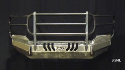 Ford - Bumper Grille Guard - Throttle Down Kustoms - 2005-2007 Ford Super Duty Bumper Grille Guard