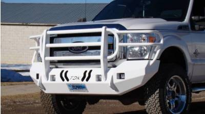 Throttle Down Kustoms - 2011-2016 Ford Super Duty Bumper Grille Guard