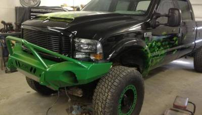 Throttle Down Kustoms - 1992-1998 Ford Super Duty Prerunner