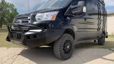 Ford - Prerunner - Throttle Down Kustoms - 2015-2020 Ford Transit Van Prerunner