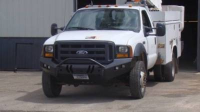 Throttle Down Kustoms - 2005-2007 Ford Super Duty Push Bar - Image 1