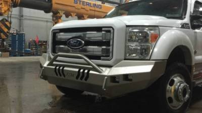 Throttle Down Kustoms - 2011-2016 Ford Super Duty Push Bar