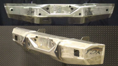 Throttle Down Kustoms - 1999-2004 Ford Rear Bumper - Image 1