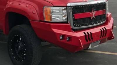 Throttle Down Kustoms - 2007-2014 GMC HD Bumper