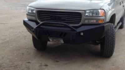 GMC - Push Bar - Throttle Down Kustoms - 2001-2002 GMC HD Push Bar