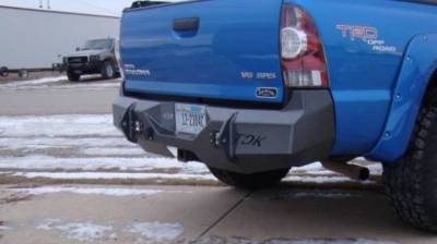 Throttle Down Kustoms - 2006-2011 Toyota Tacoma Rear Bumper