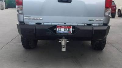 Throttle Down Kustoms - 2007-2013 Toyota Tundra Rear Bumper - Image 1