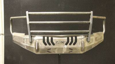Dodge/RAM - Bumper Grille Guard - Throttle Down Kustoms - 2019-2020 Dodge/Ram HD Bumper Grille Guard
