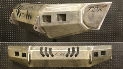 Throttle Down Kustoms - 1966-1977 Ford Bronco Bumper - Image 3