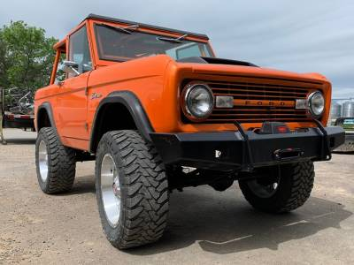 Bronco - Bronco Frame Parts - Throttle Down Kustoms - 1966-1977 Ford Bronco Bumper