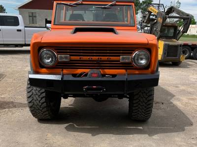 Throttle Down Kustoms - 1966-1977 Ford Bronco Bumper - Image 2