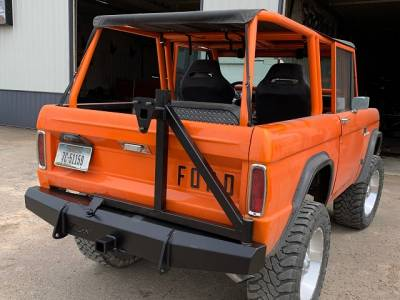 Throttle Down Kustoms - 1966-1977 Ford Bronco Rear Bumper