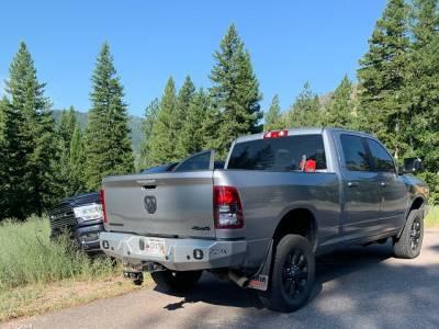 Throttle Down Kustoms - 2019-2020 Dodge/Ram 1500 Rear Bumper - Image 3