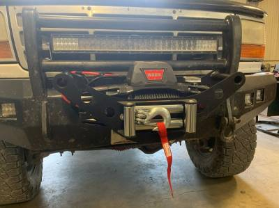 Bumper - Bumper Accessories - TDK Winch Cradle