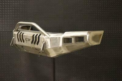 Throttle Down Kustoms - 2016-2019 Nissan Titan XD Push Bar - Image 2
