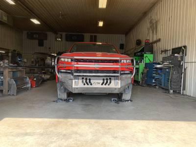Throttle Down Kustoms - 2019-2020 Chevrolet 1500 Bumper Grille Guard - Image 2