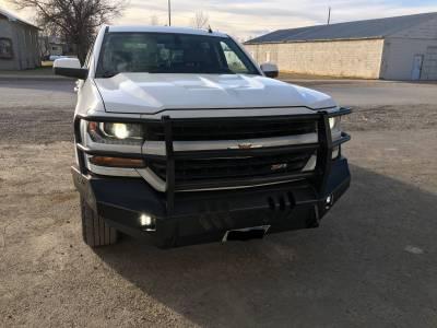 Throttle Down Kustoms - 2016-2018 Chevrolet 1500 Bumper Grille Guard - Image 2