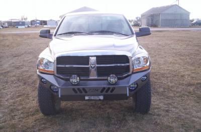 Throttle Down Kustoms - 2006-2009 Dodge HD Bumper - Image 3
