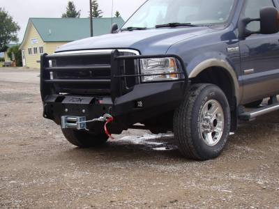 Throttle Down Kustoms - 2005-2007 Ford Super Duty Bumper Grille Guard - Image 2