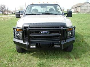 Throttle Down Kustoms - 2008-2010 Ford Super Duty Bumper Grille Guard - Image 3