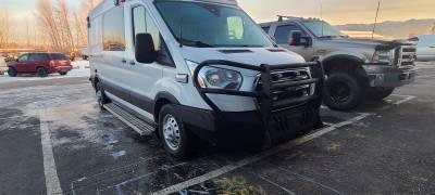 Throttle Down Kustoms - 2015-2020 Ford Transit Van Bumper Grille Guard - Image 1